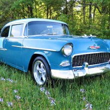 Pick of the Day: 1955 Chevy Bel Air resto-mod in blue
