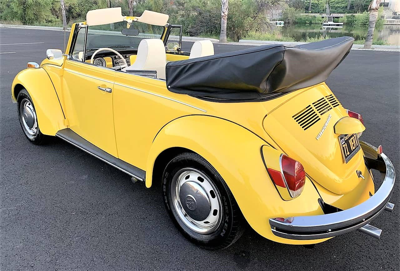 Pick Of The Day 1971 Vw Super Beetle Convertible Built For Fun