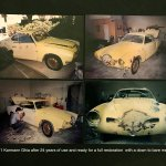 4) 1971 Ghia #1a-in 1995 when restoration began -Howard Koby photo copy