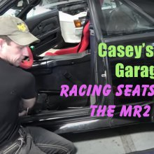 Casey's 80s Garage: Racing seats in the MR2