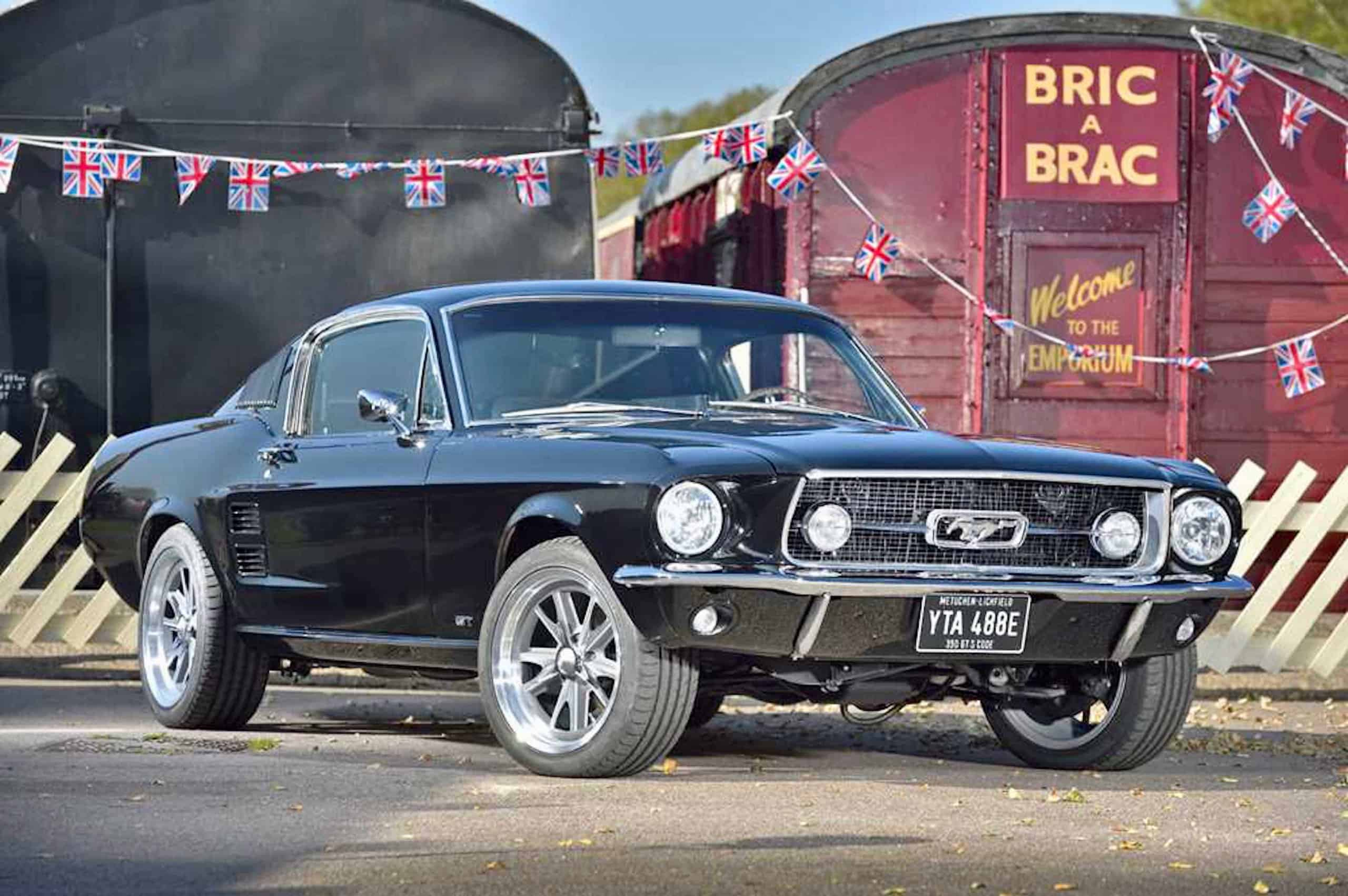 67 Ford Mustang 390 Gt Tops H H Online Auction