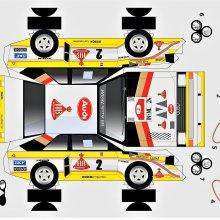 Audi toasts 'quattro de Mayo' with 3 car cutouts to build