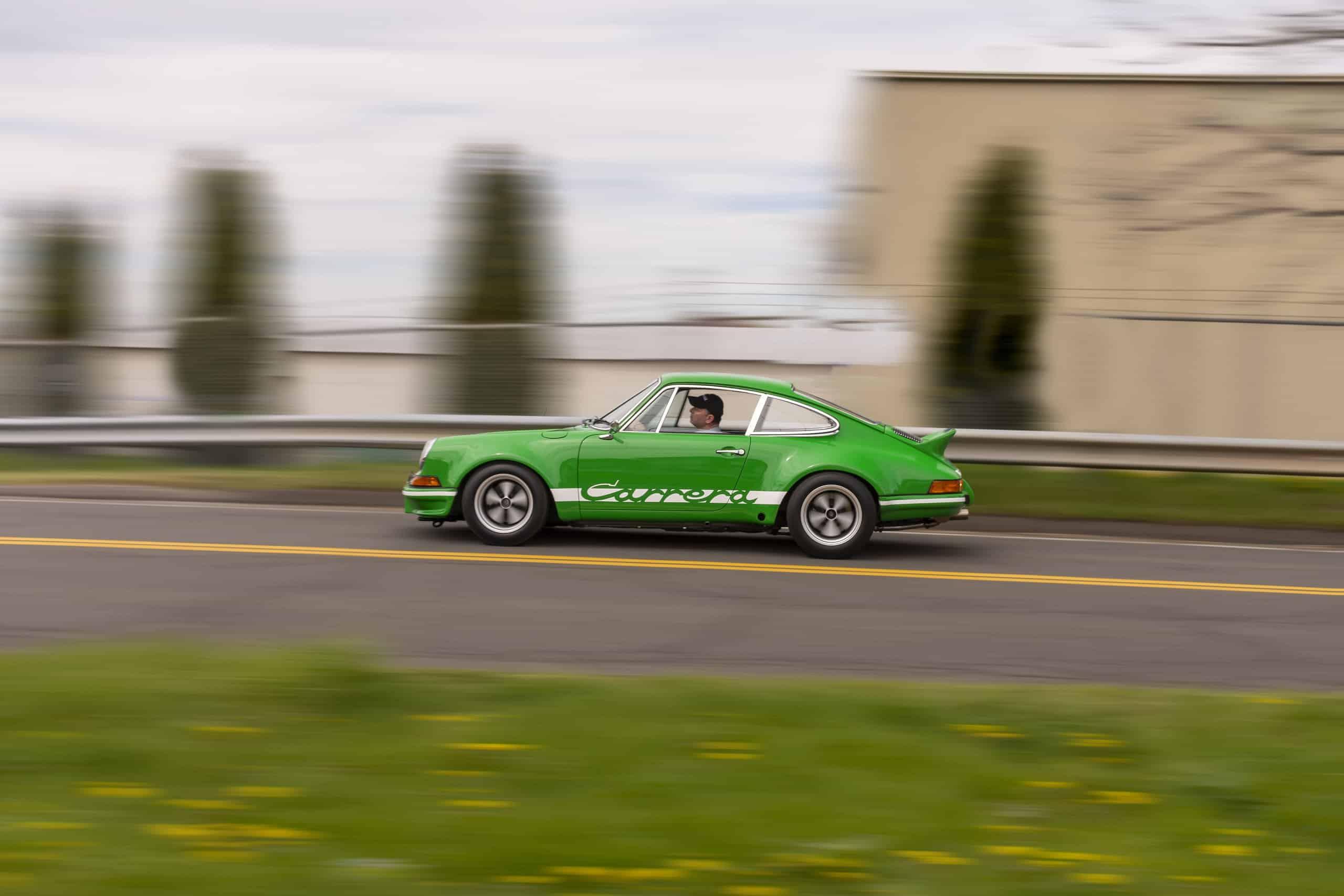 Viper Green Porsche