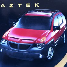A lament for the Pontiac Aztek