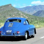 porsche 356 blue az