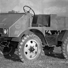 Mercedes-Benz Unimog originally intended to be used as a tractor