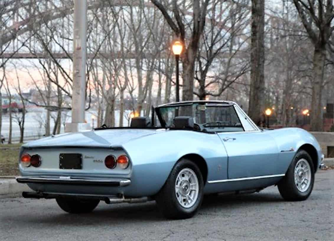 Pick Of The Day 1972 Fiat Dino 2400 Spider The Mass Market Exotic