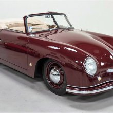 Pick of the Day: 1951 Porsche 356 Cabriolet, an exceptional early car