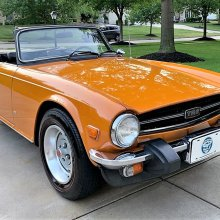 Pick of the Day: 1976 Triumph TR6 with low mileage and roadster flair