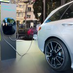 Charging modern electric car