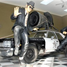 'The Blues Brothers,' an icon of vehicular mayhem, turns 40