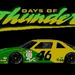 Days of Thunder NES cover