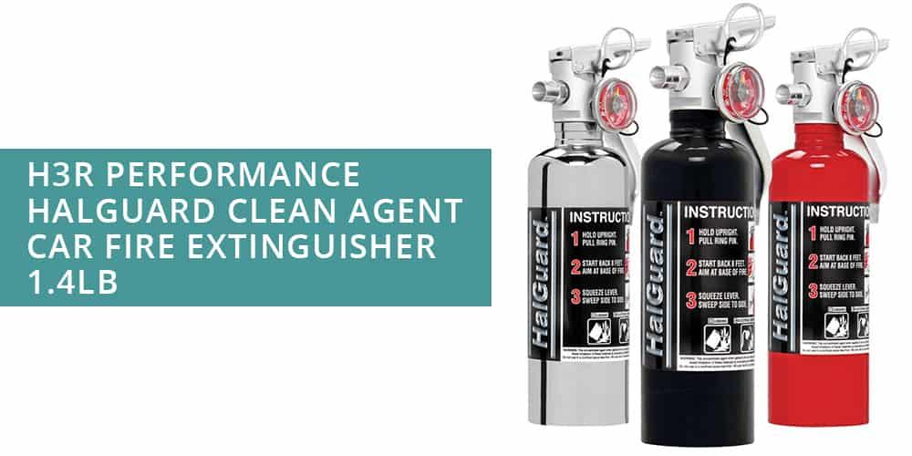 H3R Performance Halguard Clean Agen Car Fire Extinguisher