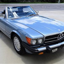 Pick of the Day: 1986 Mercedes-Benz 560SL roadster