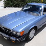 MB 560SL pick front roof