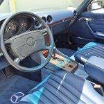 MB 560SL pick interior