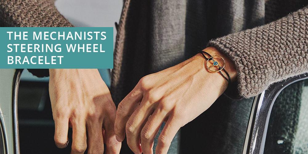 Mechanists Steering  Wheel bracelet