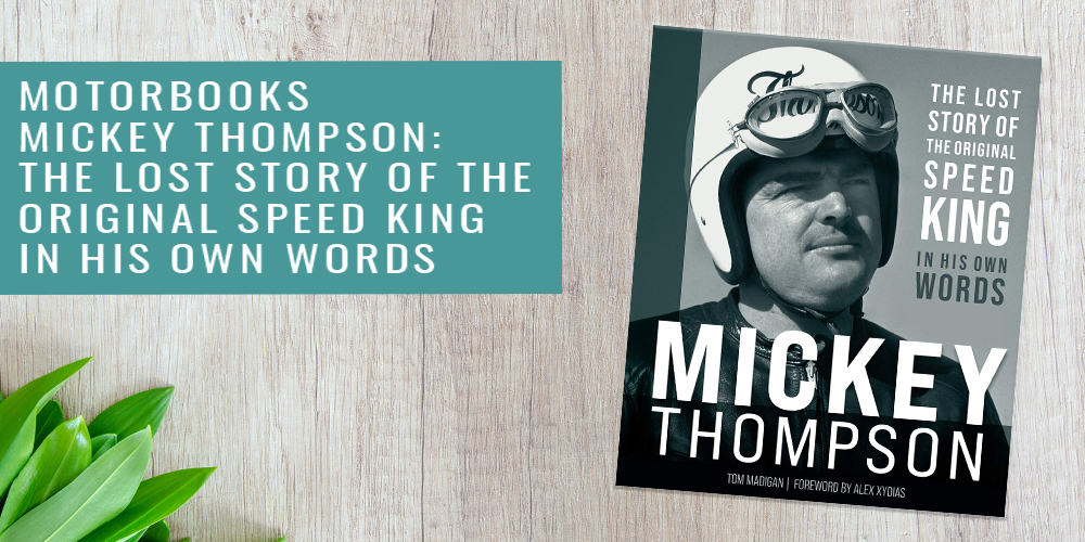 Motorbooks Mickey Thompson Father's Day Gift