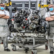 Bentley builds last L-Series engine, world's longest-serving V8 design