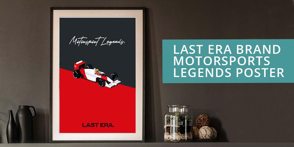 Last Era Motorsport Legends posted inspired by Ayrton Senna