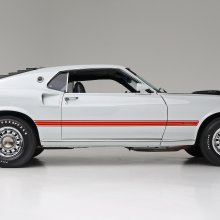 1969 Ford Mustang Mach 1 Cobra Jet — Sweet!