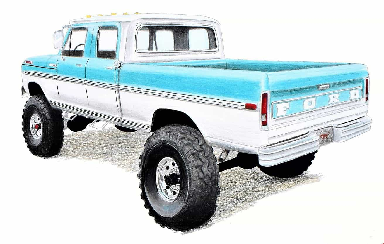 Reimagined Resto Mod Ford Trucks Announced By Gateway Bronco