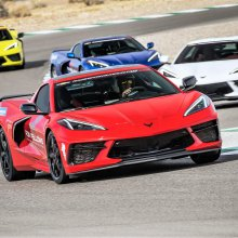 Performance-driving instruction begins for 8th-gen Corvette owners