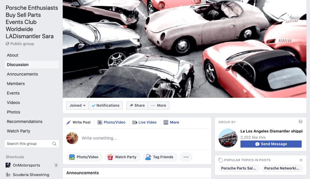 LAPD Facebook