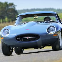 Eagle builds a Jaguar E-Type Lightweight for the road