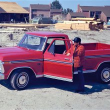 Ford pickup trucks over the years: A brief pictorial history