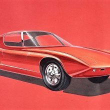 Ford unearths early GT40 design sketches, clay model