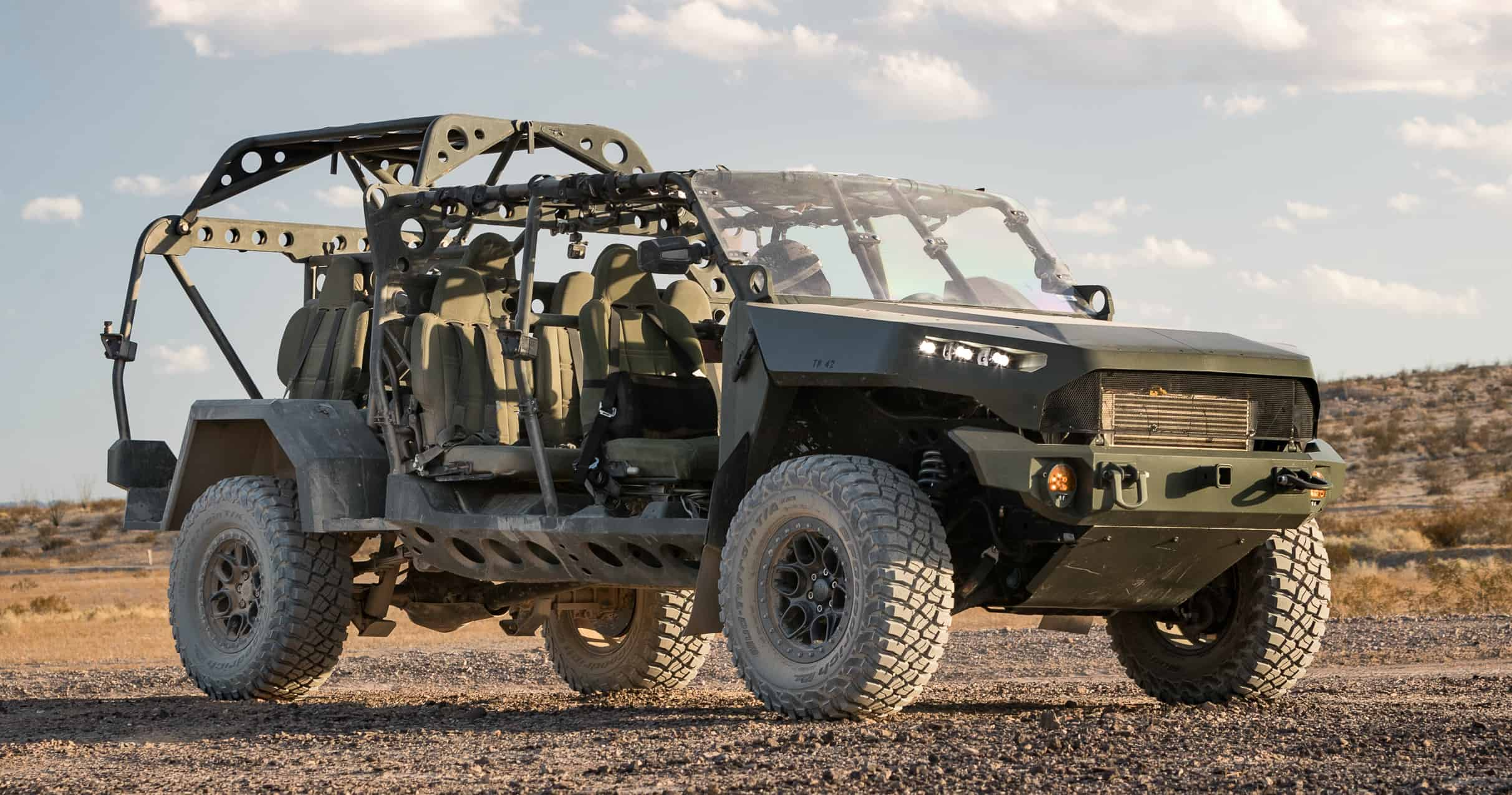 Army vehicles, GM will build Army vehicles based on Colorado ZR2 pickup platform, ClassicCars.com Journal