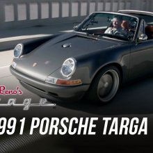 1991 Porsche 911 crafted by Singer visits Jay Leno's garage