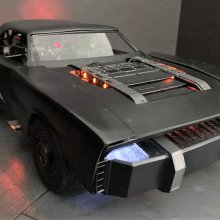 Latest Batmobile for 'The Batman' movie is mid-engine muscle car