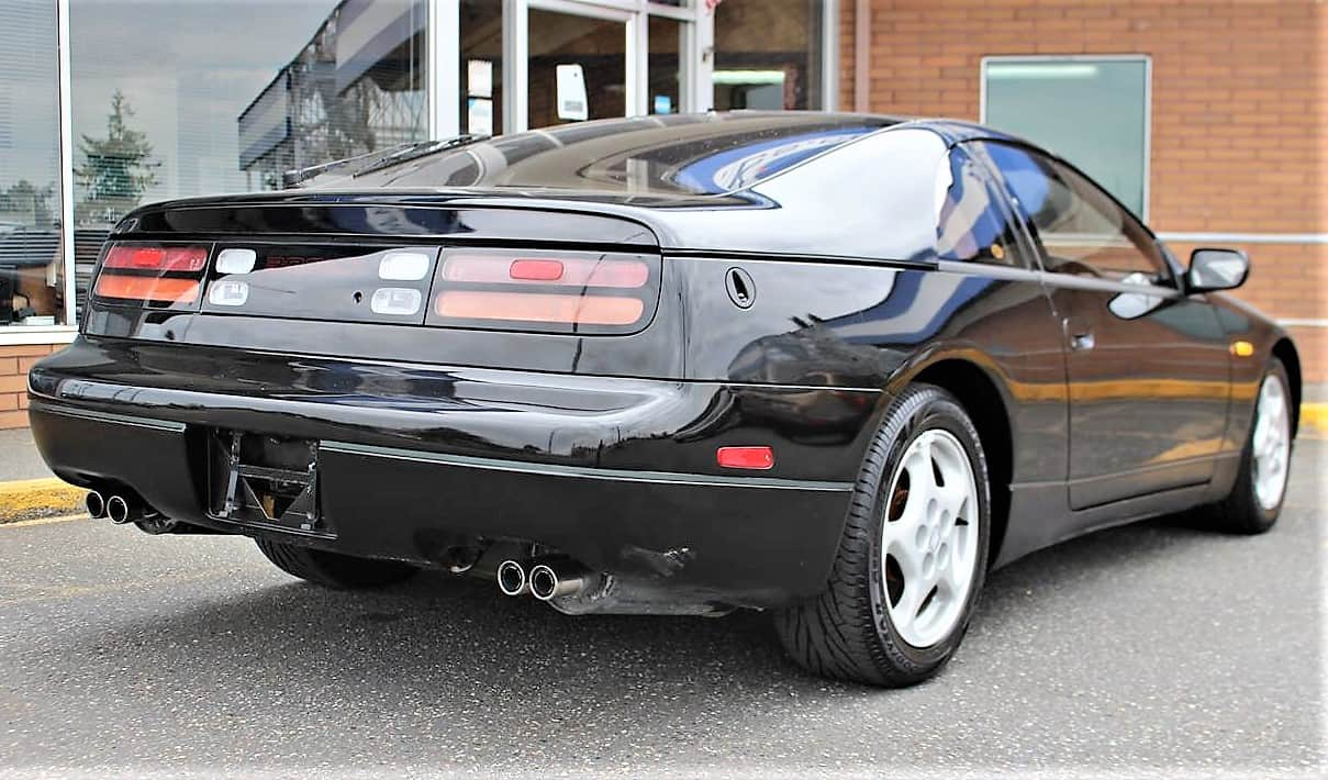 Pick Of The Day 1991 Nissan 300zx A Low Mileage Jdm With Rhd