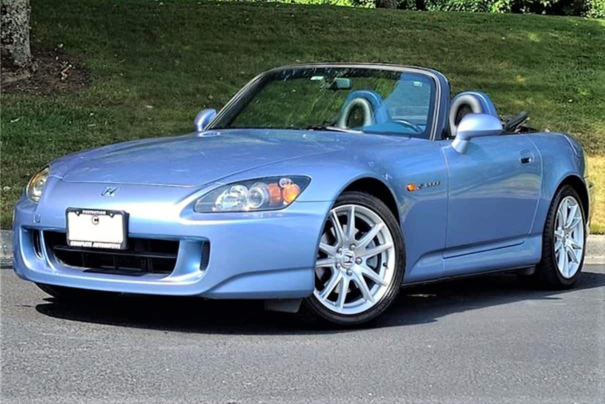 Pick Of The Day 2005 Honda S2000 That Reflects Its Racing Heritage