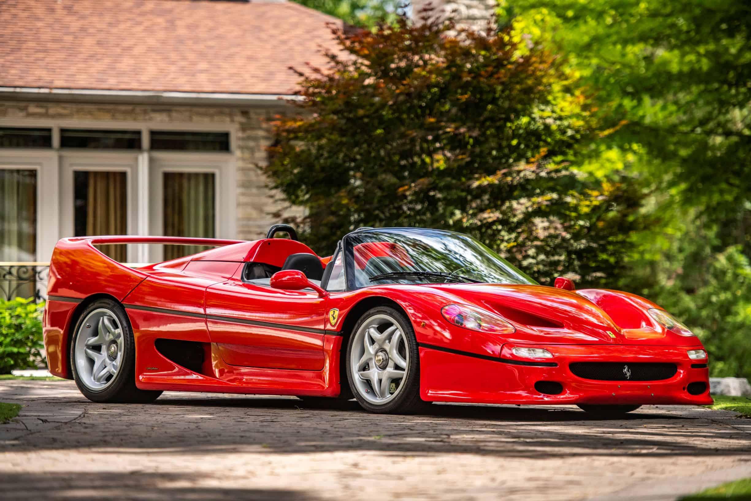 Ferrari F50 photographed by Scarfone