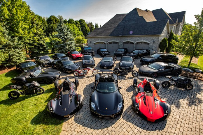 One of the largest collections photographed featuring two BAC Monos | Photography by Lucas Scarfone