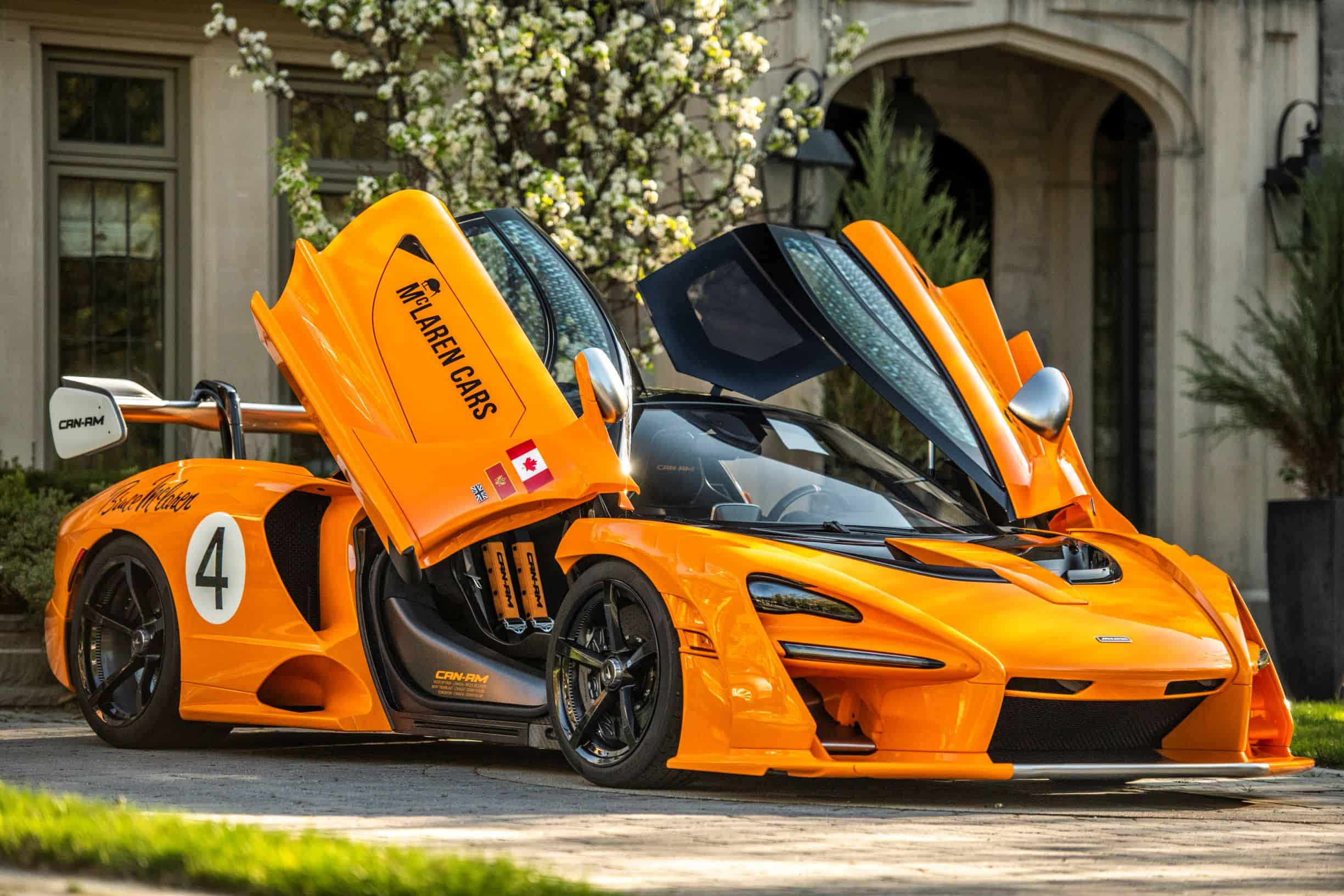 McLaren Senna Can-AM photographed by Scarfone