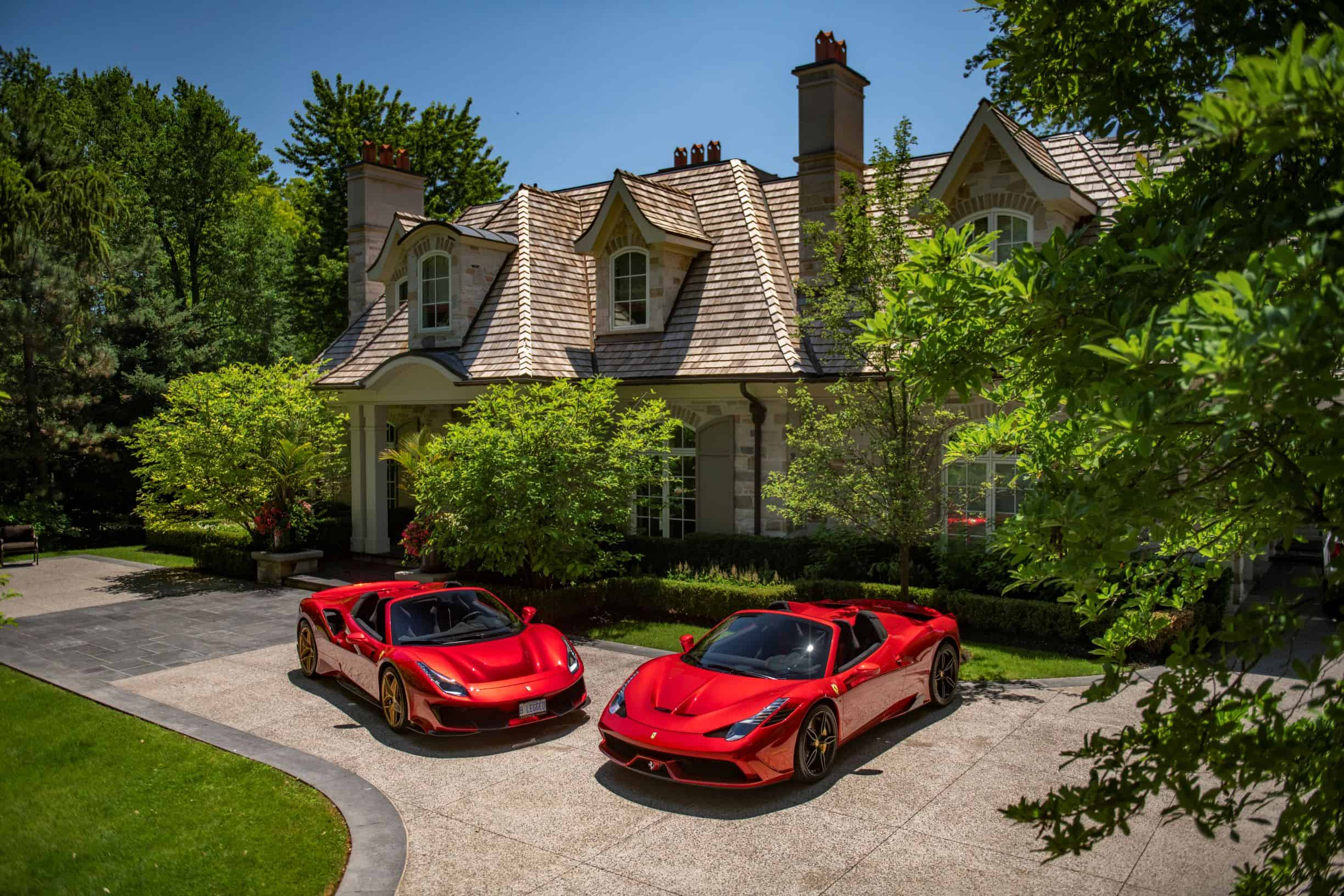 Ferraris photographed by Scarfone