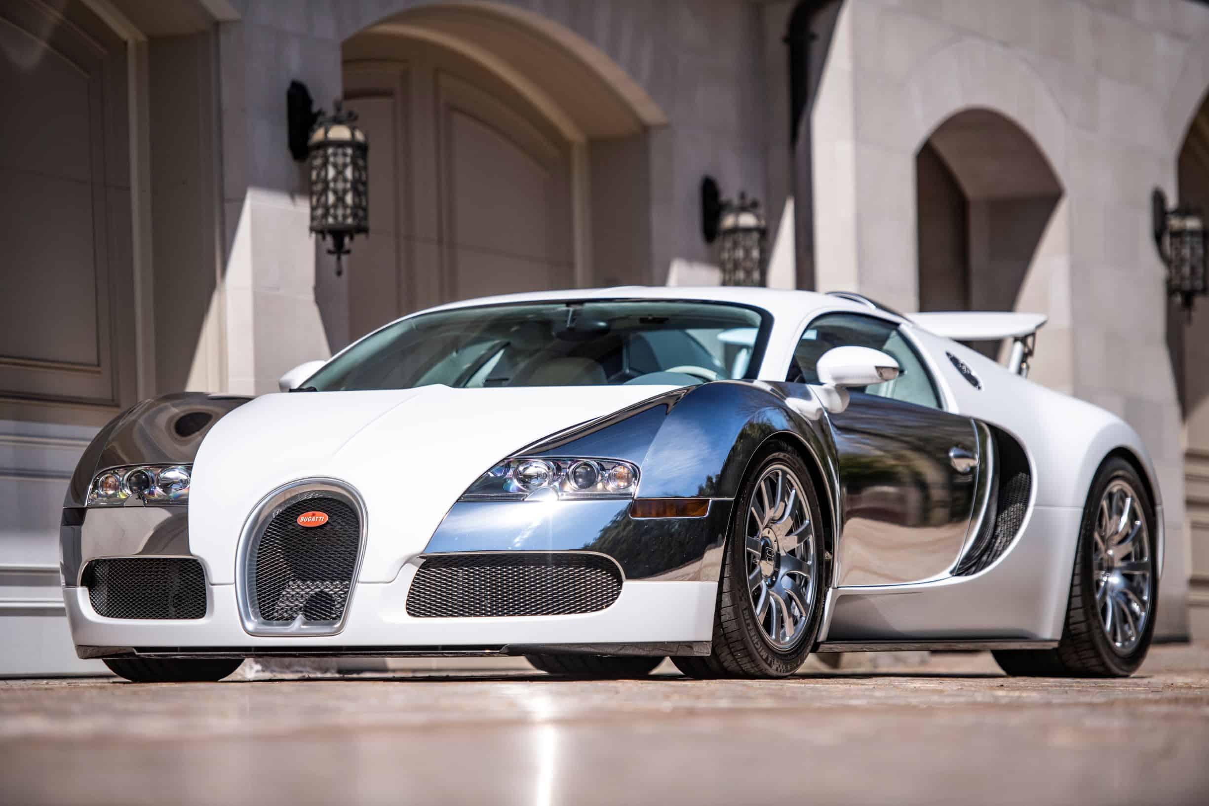 Bugatti Veyron previously owned by Flloyd Mayweather