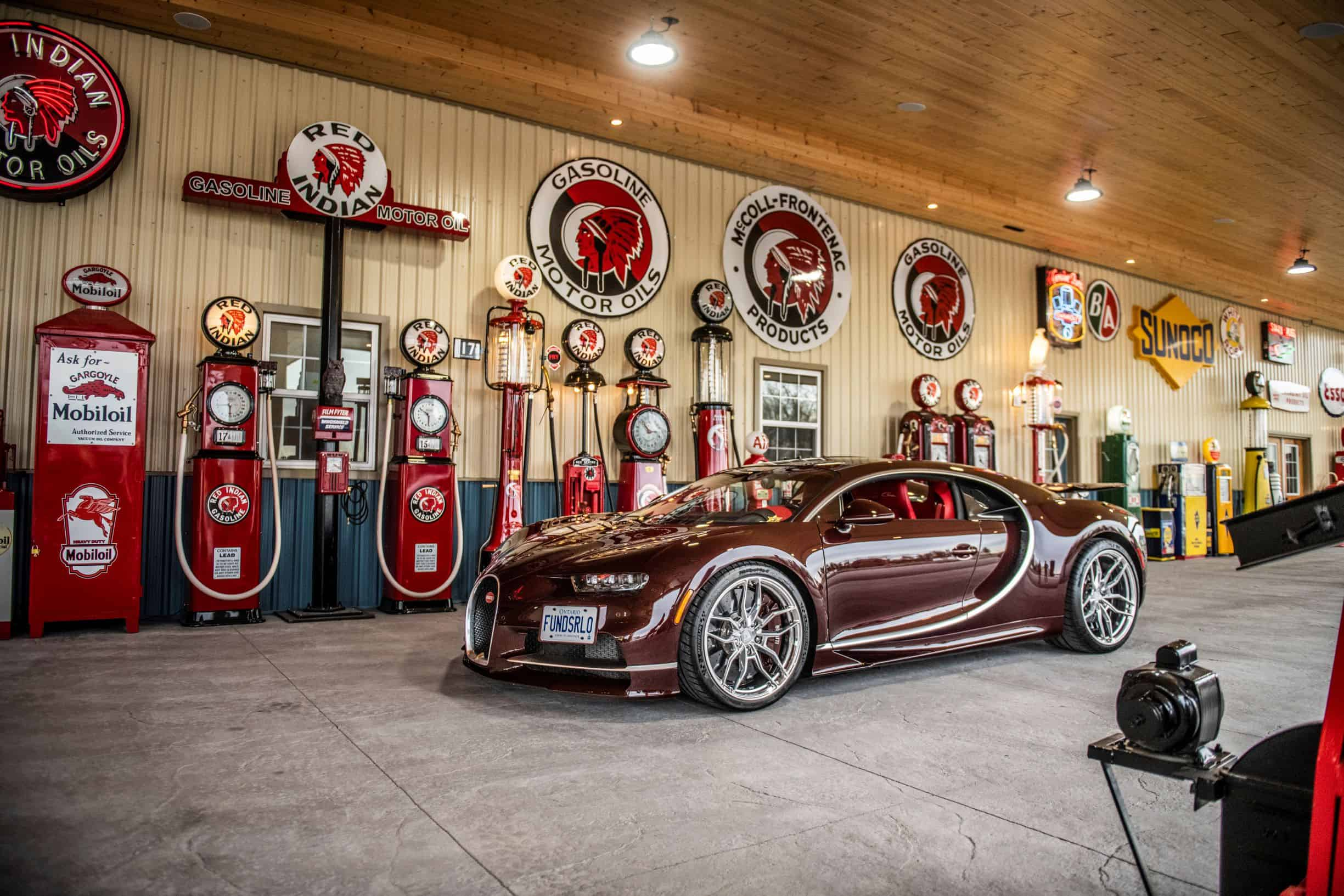Bugatti photographed by Scarfone