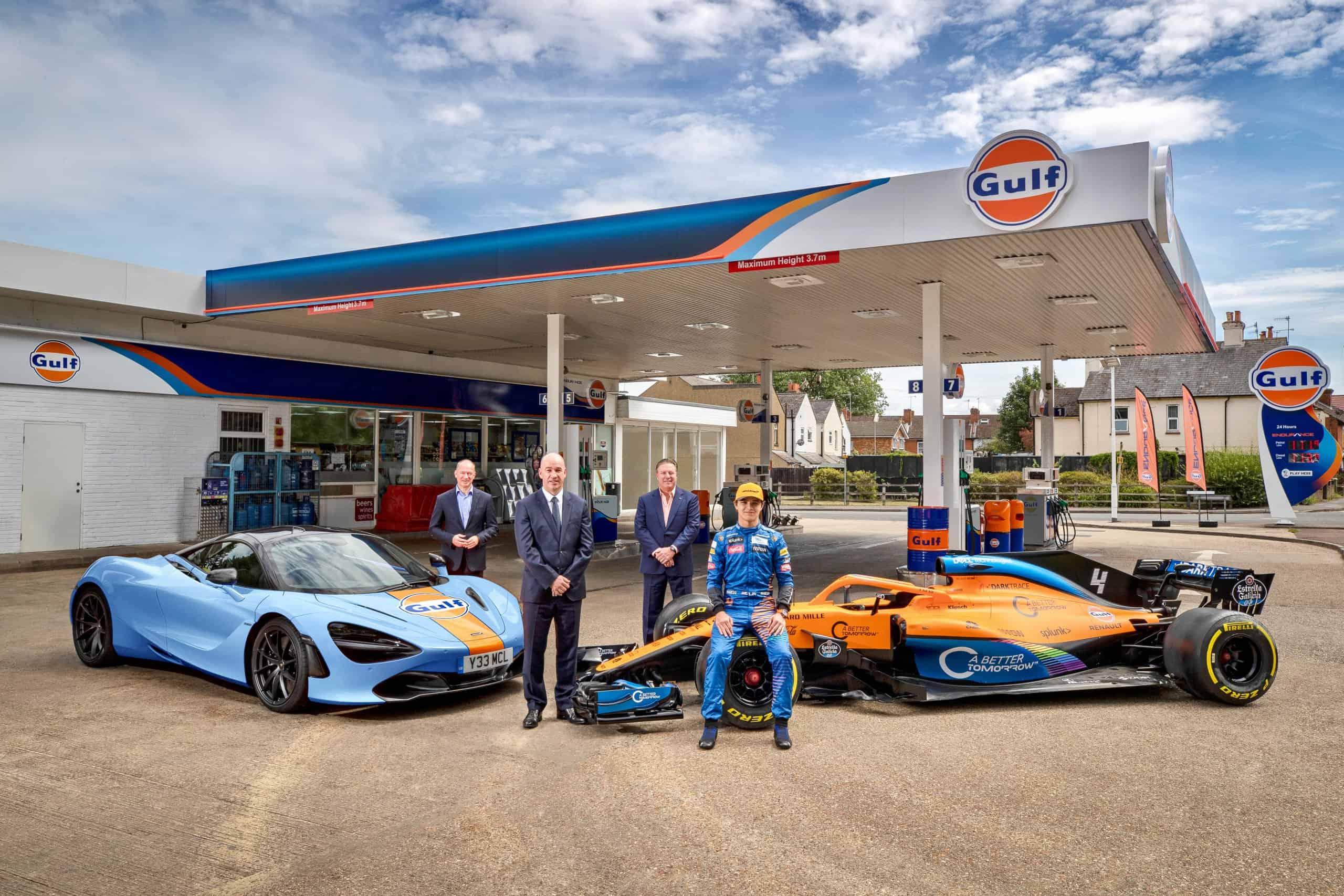 Gulf Oil, Gulf, McLaren reunite for road and track, ClassicCars.com Journal