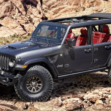 Jeep unveils V8-powered Wrangler concept