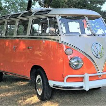 1967 VW bus attracts loving crowds, and an act of kindness