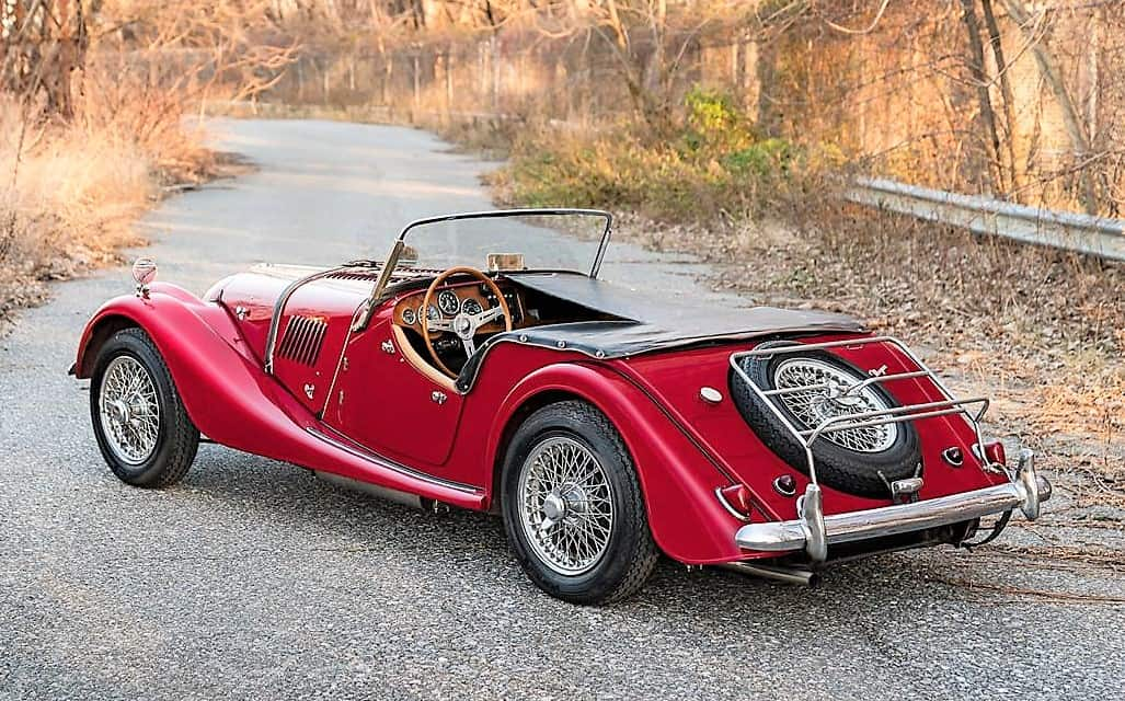 Pick Of The Day 1967 Morgan 4 4 Competition In Restored Condition
