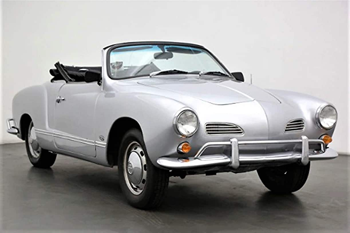 Pick Of The Day 1966 Karmann Ghia As Vw Sports Car Marks 65 Years