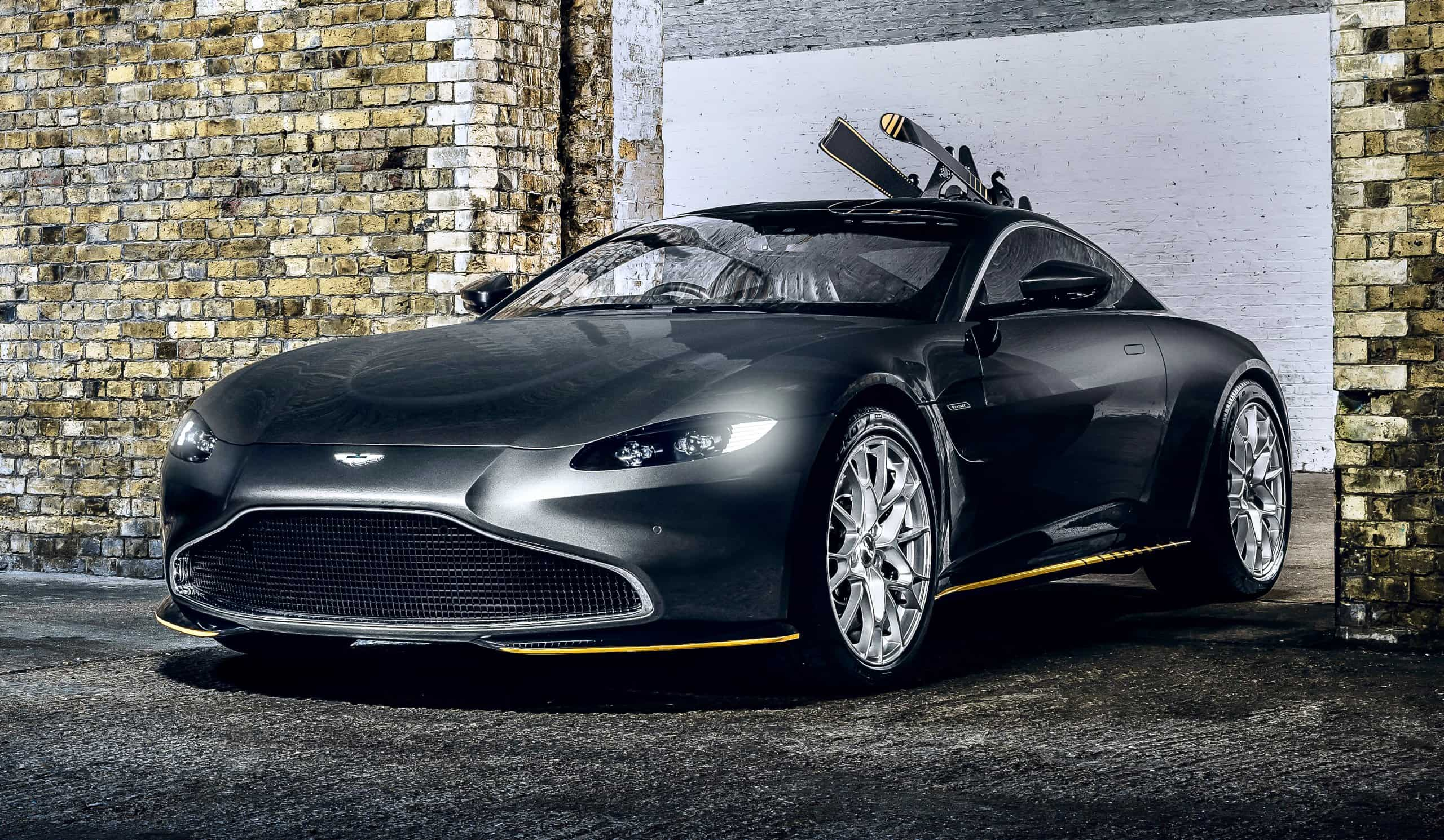 Aston Martin Plans 007 Movie Inspired Limited Edition Models