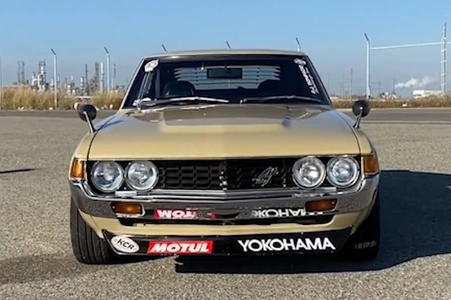1977 Toyota Celica GT owned by Koji Yamaguchi Best of Show