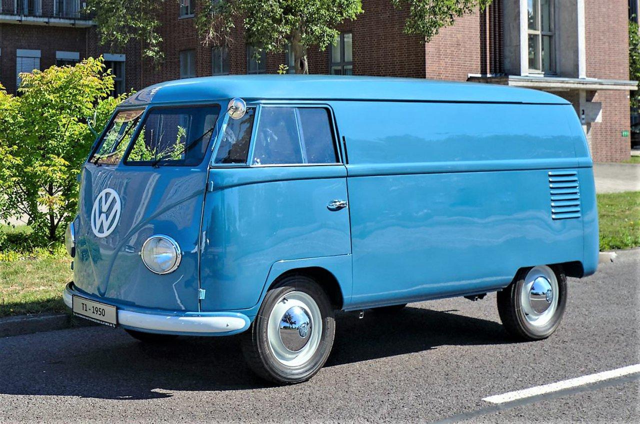 volkswagen, Oldest-known Volkswagen van marked 70th birthday this year, ClassicCars.com Journal
